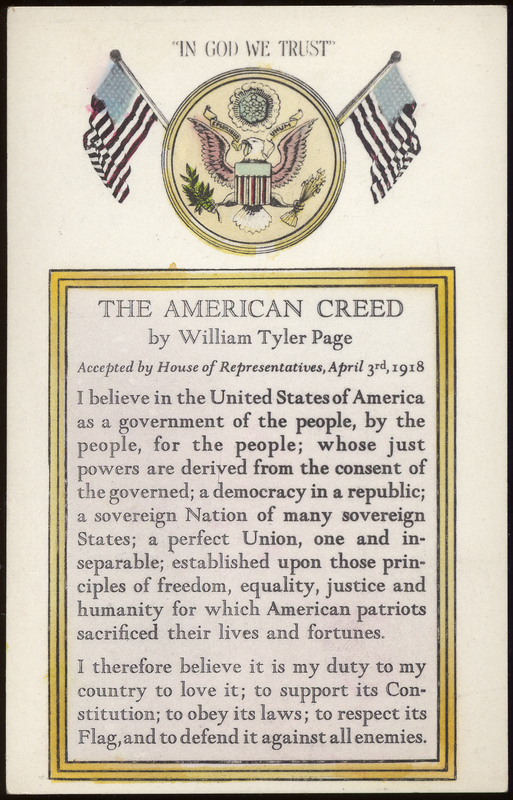 american creed discrimination essay merton